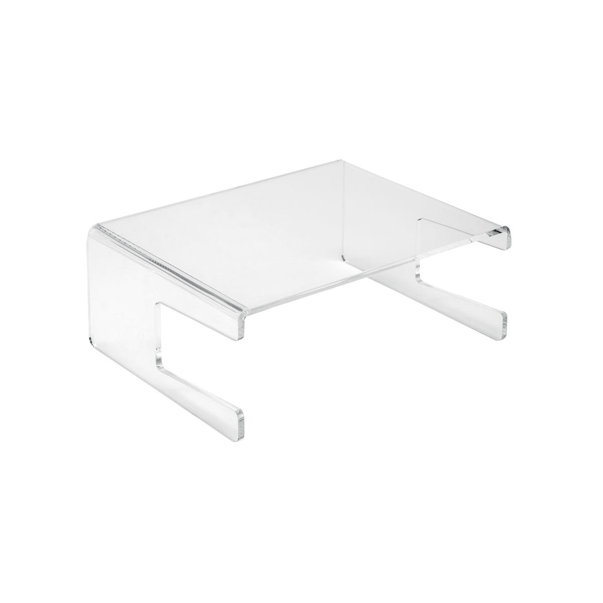 Risers / Stands 5 Star Office Monitor Stand Acrylic Capacity 21inch W300xD230xH120mm Clear