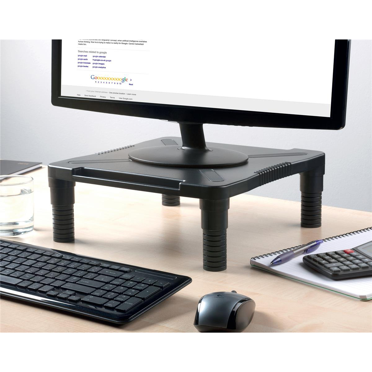 5 Star Office Desktop Smart Stand Adjustable Height Non-skid Platform