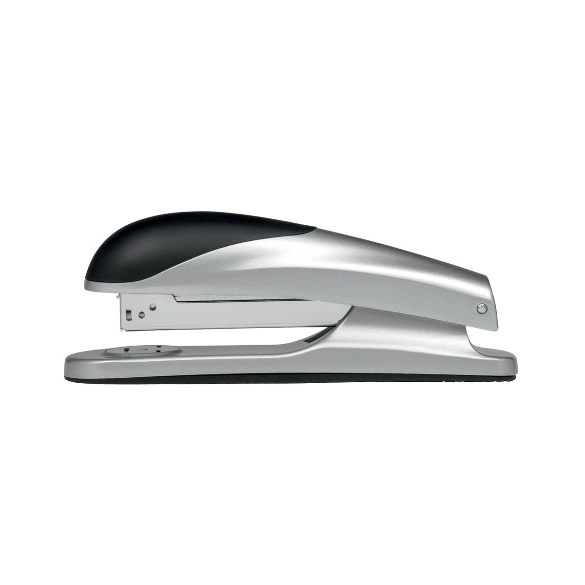 Long Arm Staplers 5 Star Elite Stapler Full Strip Capacity 20 Sheets Silver