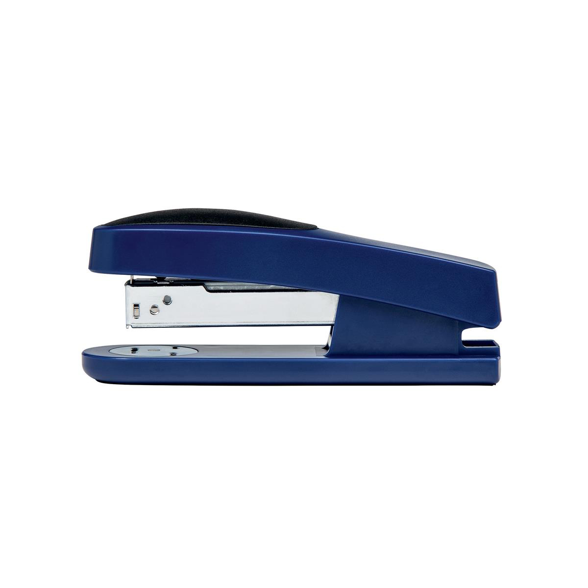 Long Arm Staplers 5 Star Office Half Strip Stapler Top Loading Rubber Base 25 Sheet Capacity Takes 26/6 Staples Blue