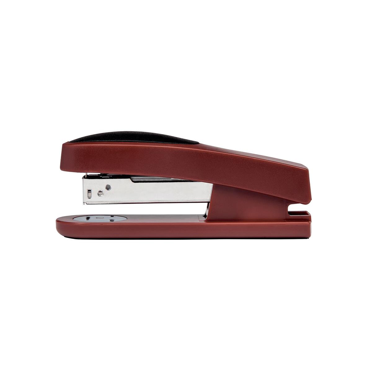 Long Arm Staplers 5 Star Office Half Strip Stapler Top Loading Rubber Base 25 Sheet Capacity Takes 26/6 Staples Red