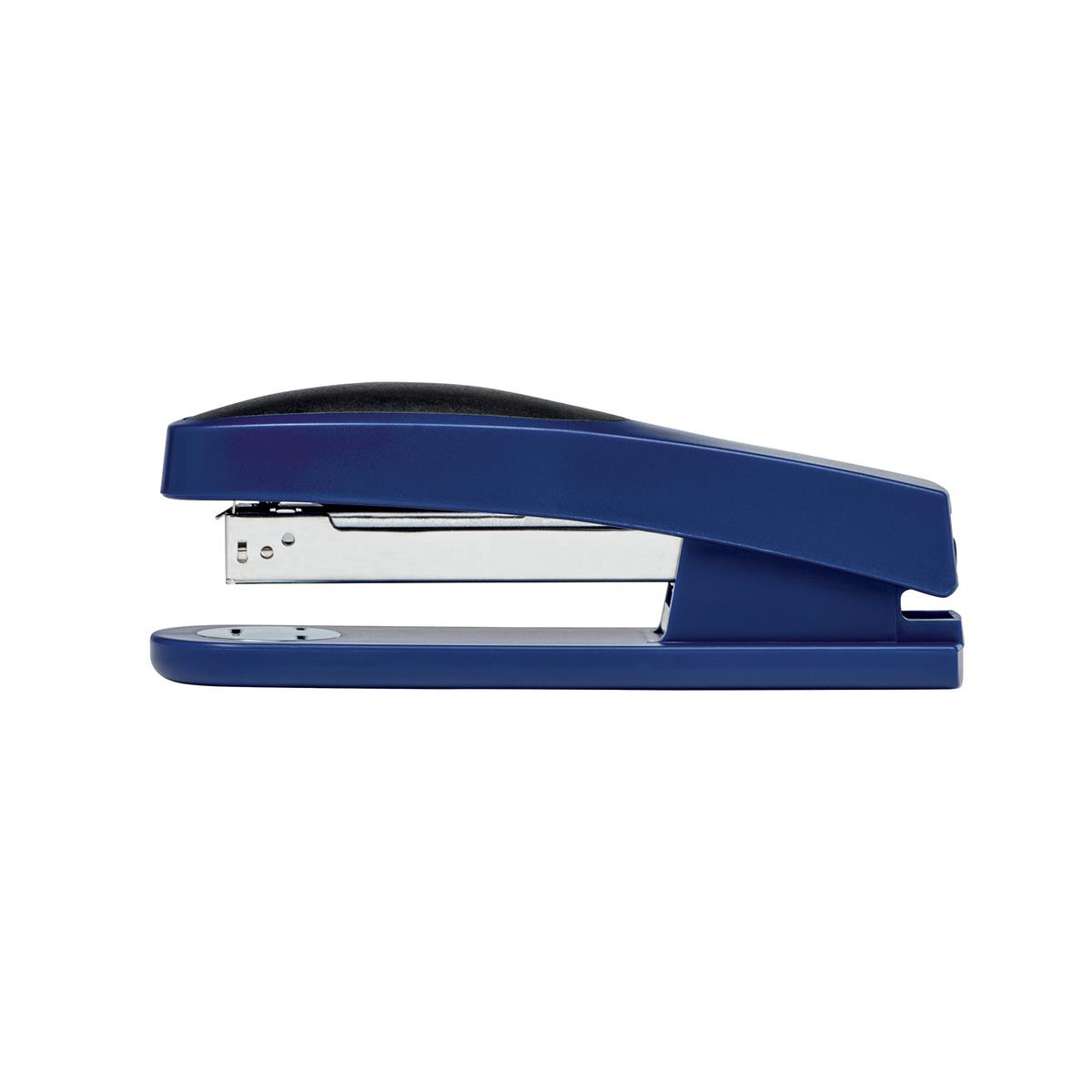 Desktop Staplers 5 Star Office Stapler Full Strip Rubber Body Capacity 25 Sheets Blue