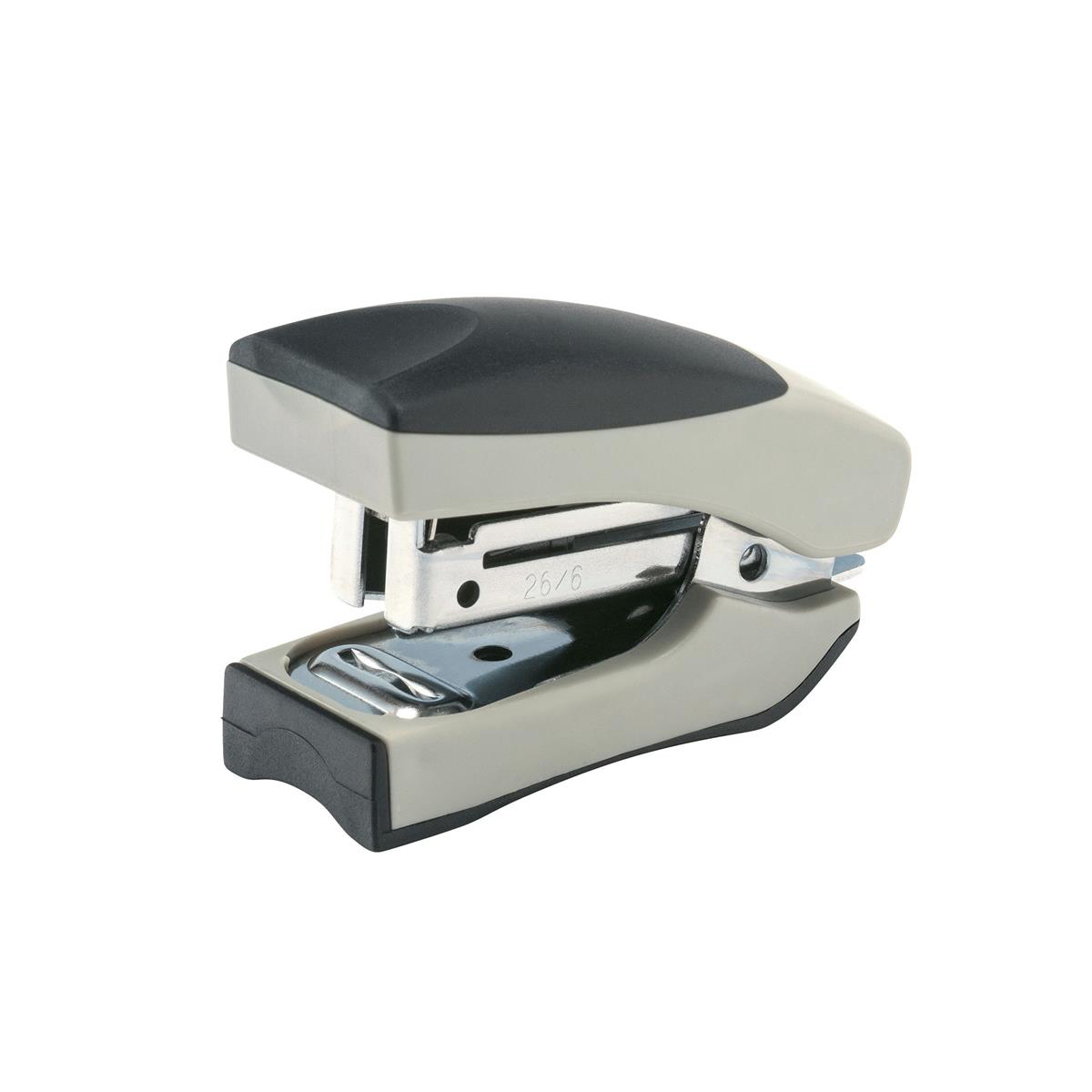 5 Star Office Stand-up Stapler Capacity 20 Sheets 50 Staples Silver/Black