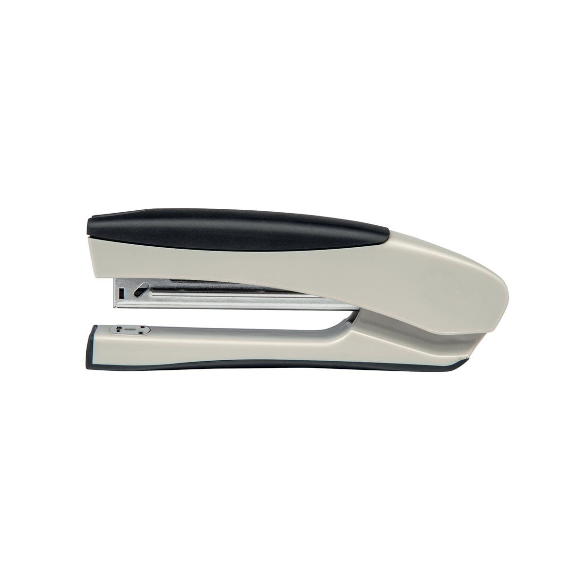 Long Arm Staplers 5 Star Office Stapler Full Strip Stand Up Soft Grip Capacity 20 Sheets Silver/Black