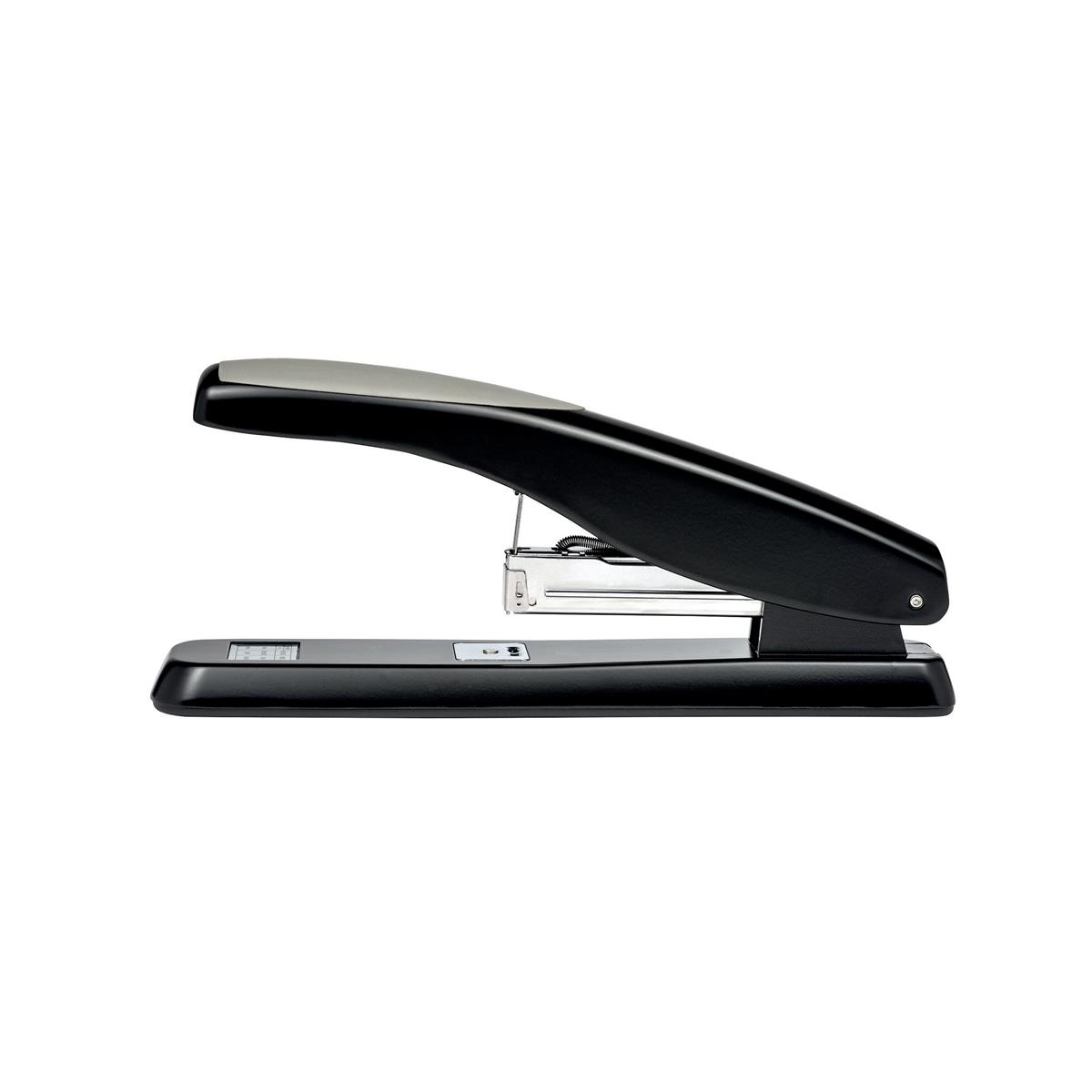 5 Star Office Multi-Purpose Long Handle Stapler 2-50 Sheet Capacity Takes 26/6 or 24/6 Staples Black