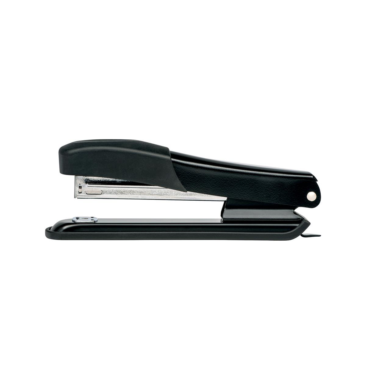 Long Arm Staplers 5 Star Office Metal Full Strip Stapler 20 Sheet Capacity Takes 26/6 Staples Black