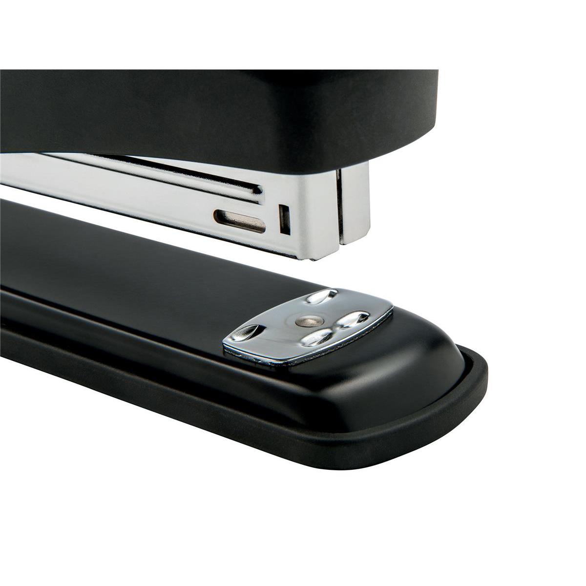 5 Star Office Metal Full Strip Stapler 20 Sheet Capacity Takes 26/6 Staples Black