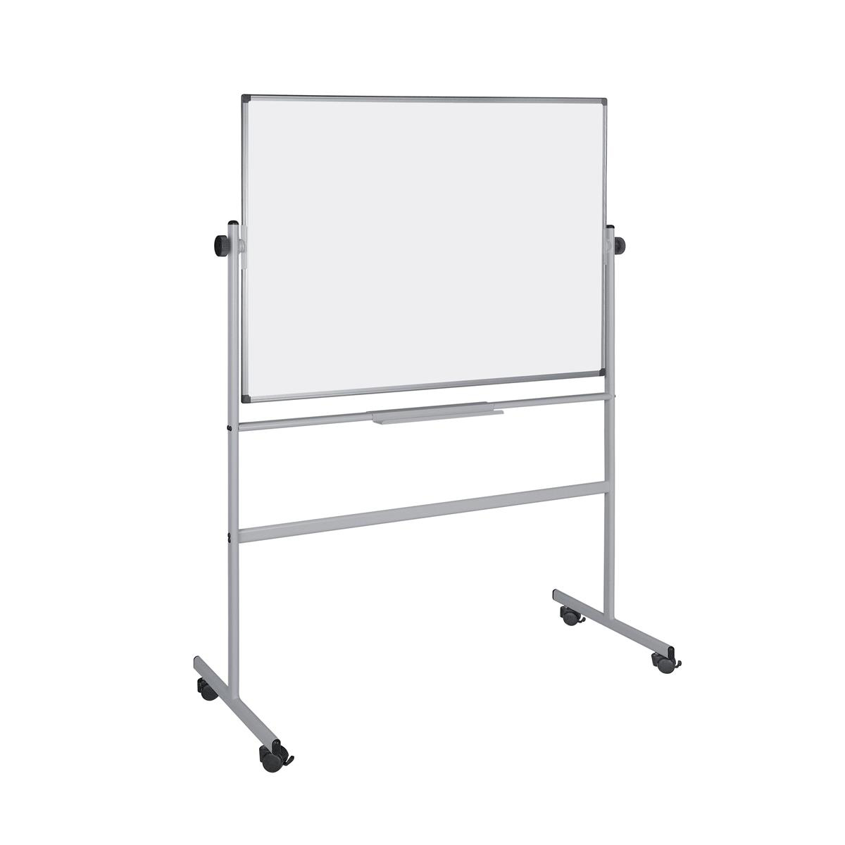 Easels 5 Star Office Revolver Whiteboard Magnetic Mobile 1500x1200mm