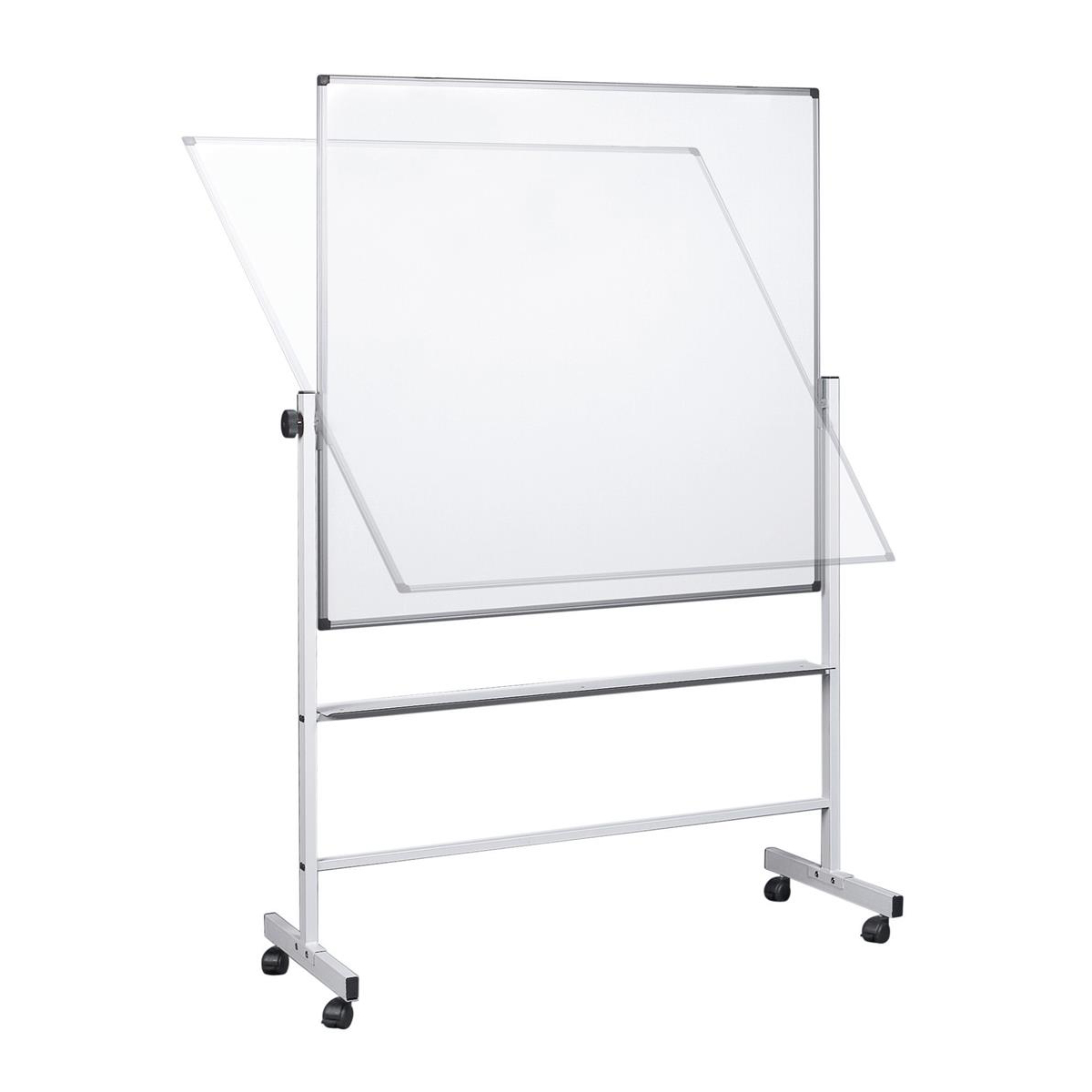5 Star Office Revolver Whiteboard Magnetic Mobile 1500x1200mm