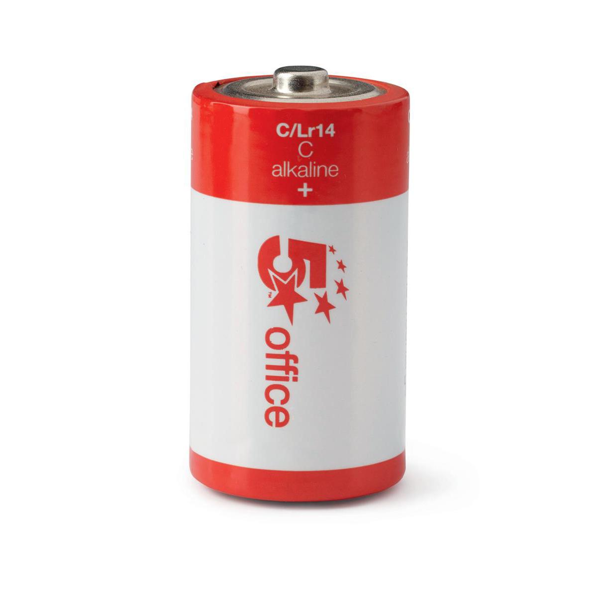 Image for 5 Star Office Batteries C/LR14 [Pack 12]