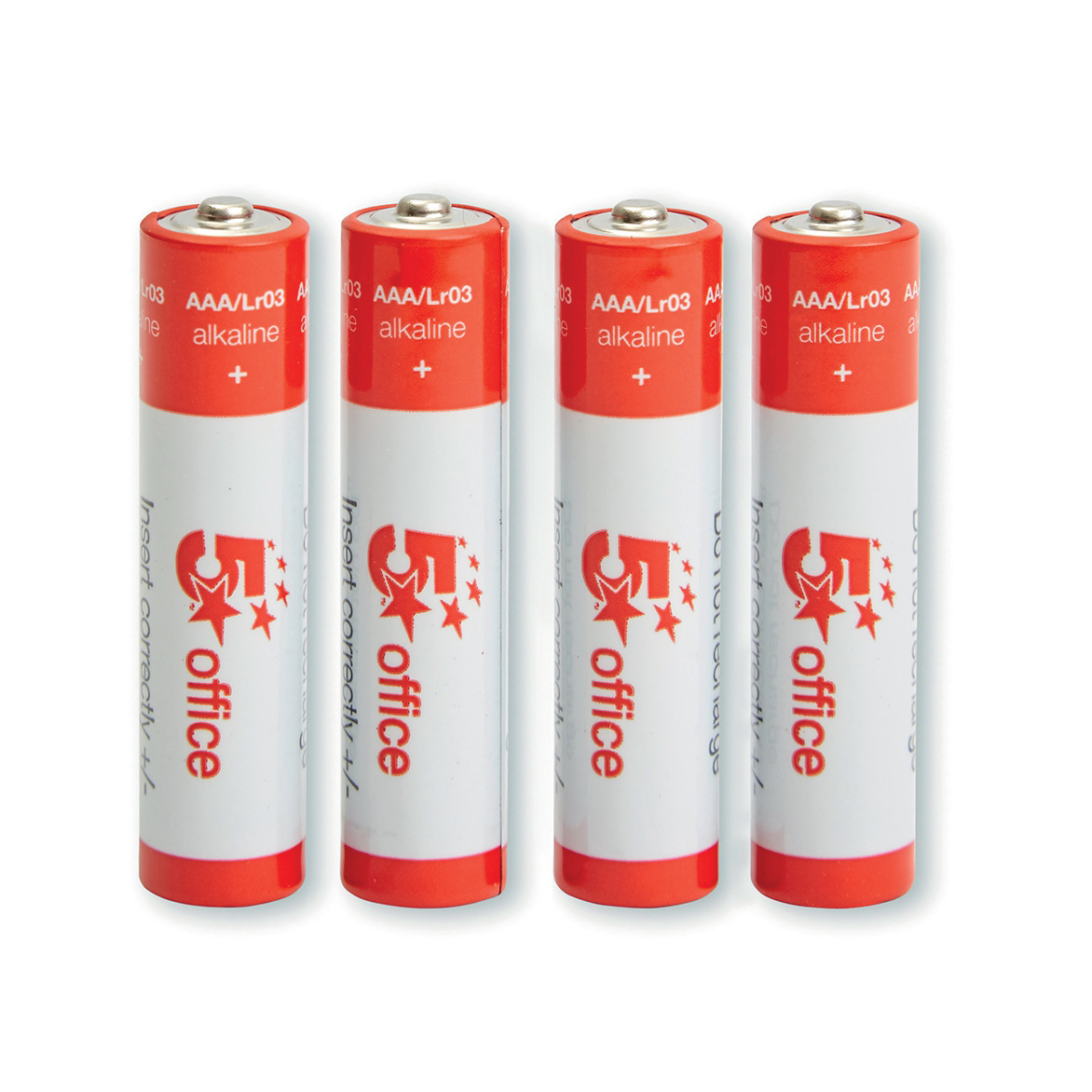5 Star Office Batteries AAA Pack 4