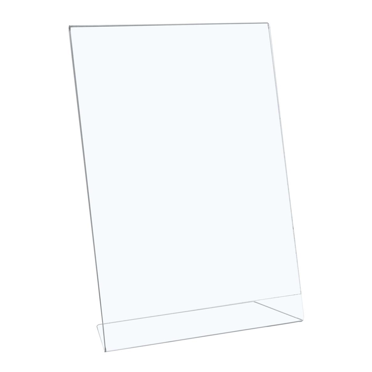 Sign holders or stands 5 Star Office Sign Holder Portrait Slanted A4 Clear