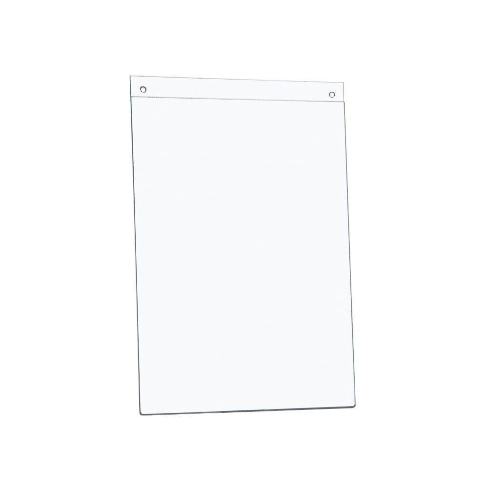 Sign holders or stands 5 Star Office Sign Holder Wall Display Portrait A4 Clear