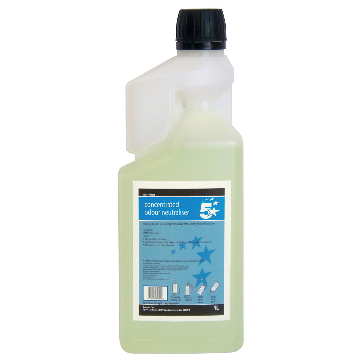 Image for 5 Star Facilities Concentrated Odour Neutraliser 1 Litre