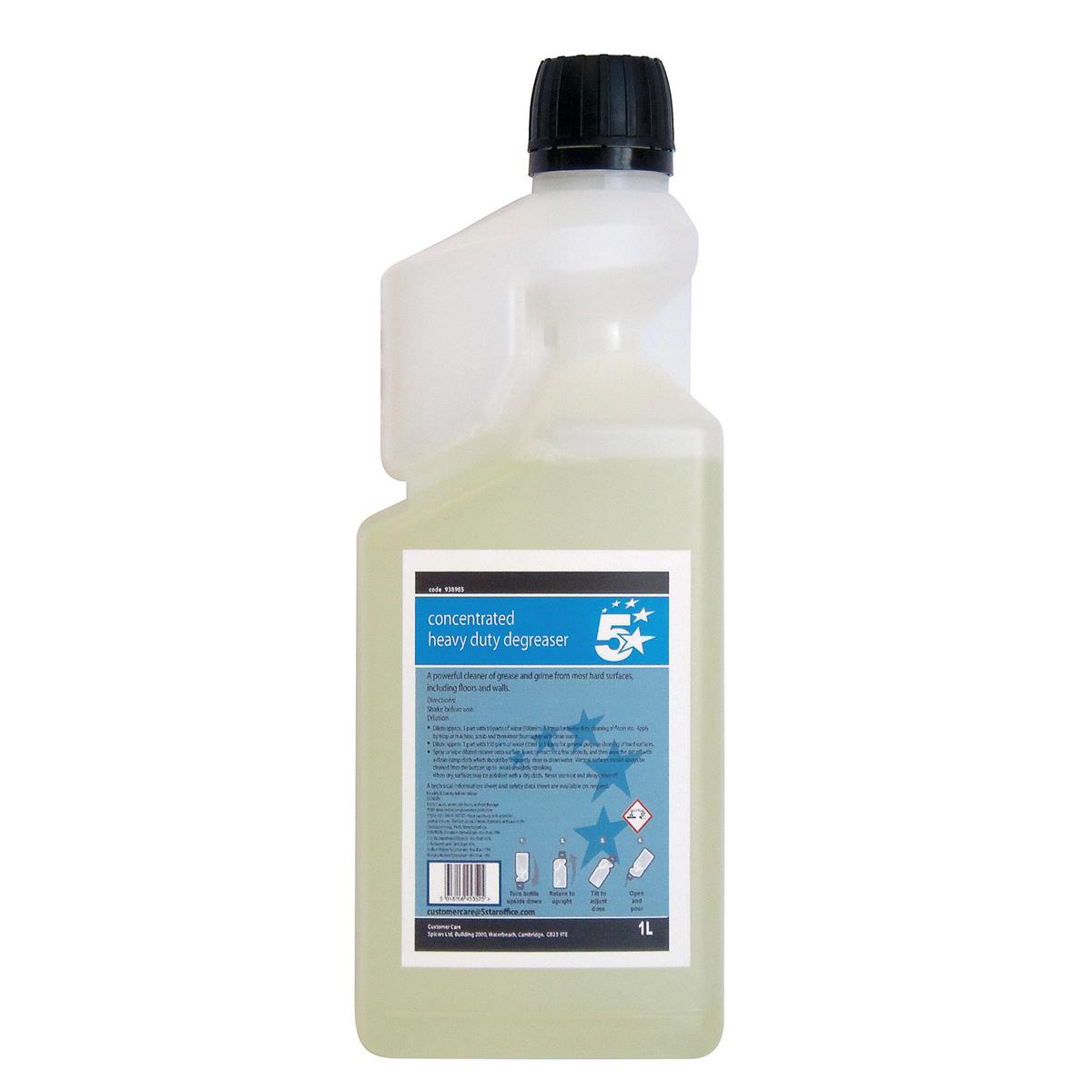 5 Star Facilities Concentrated Heavy-duty Degreaser 1 Litre