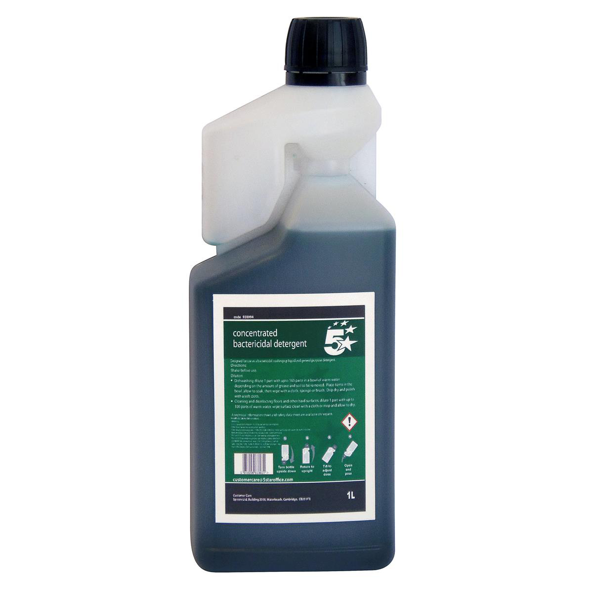 Image for 5 Star Facilities Concentrated Bactericidal Detergent 1 Litre