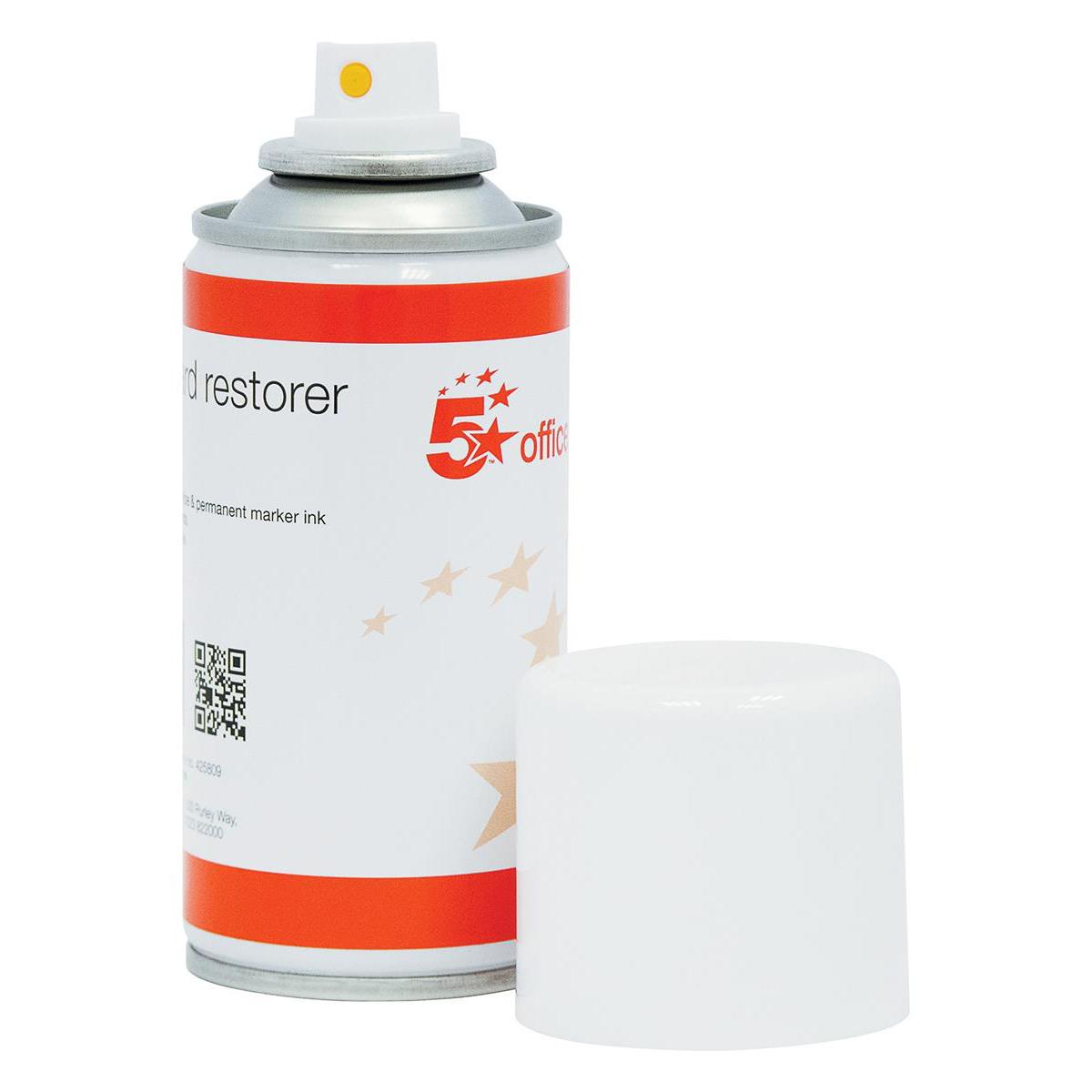 5 Star Office Whiteboard Restorer Spray 150ml