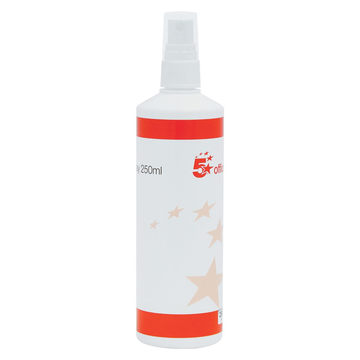 5 Star Office Glass Board Cleaning Fluid Pump Spray Non-flammable 250ml