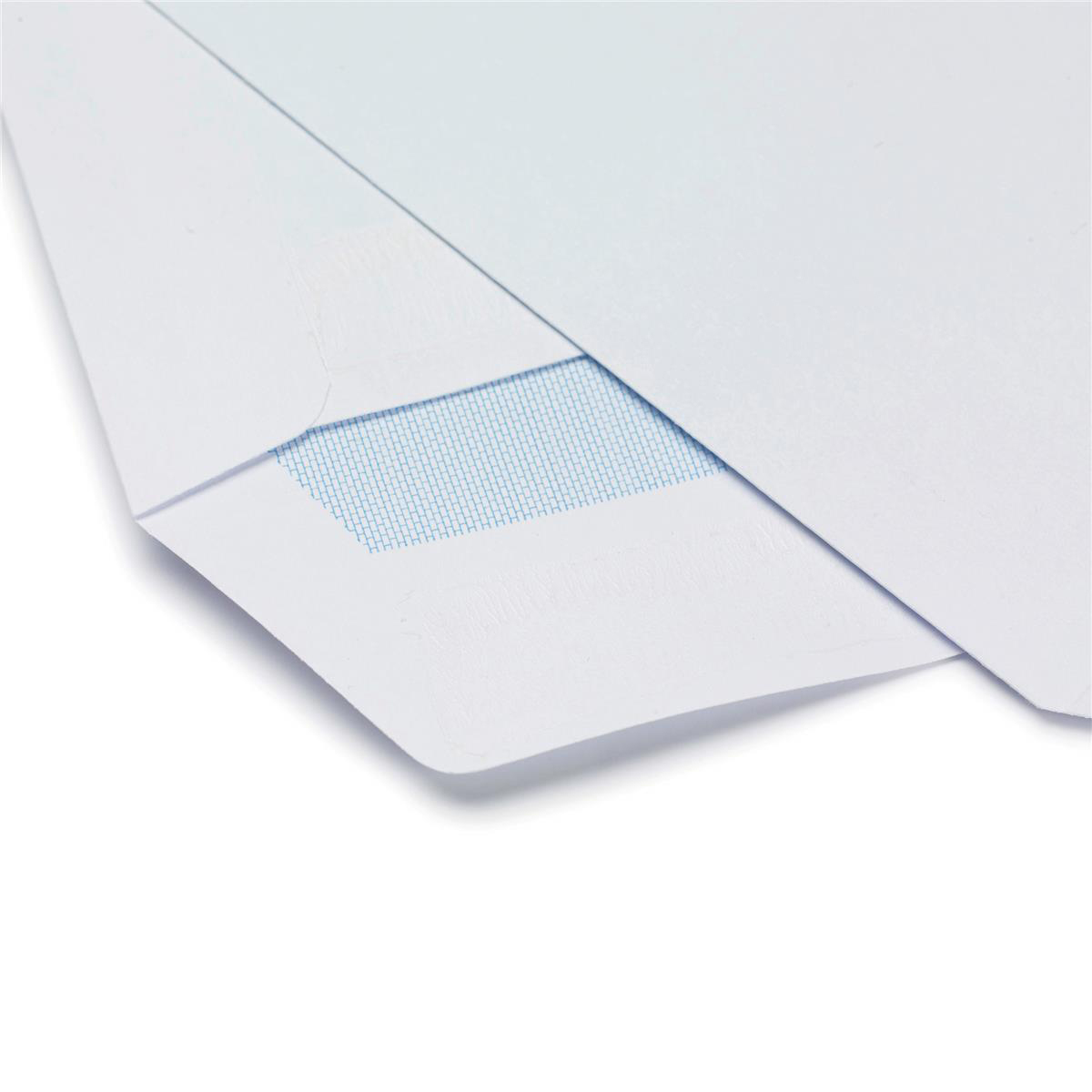 5 Star Office Envelopes PEFC Pocket Self Seal Window 90gsm C5 229x162mm White Pack 500