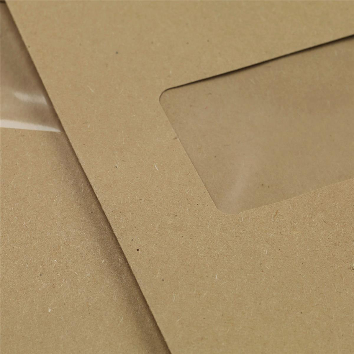 5 Star Office Envelopes PEFC Pocket Self Seal Window 90gsm C4 324x229mm Manilla [Pack 250]