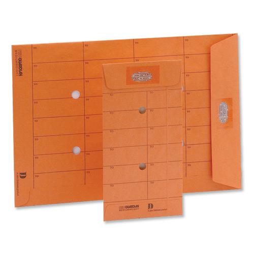 New Guardian Envelopes Internal Mail Pockt Intertac Resealable 90gsm C4 324x229mm Manil Orange Pack 500