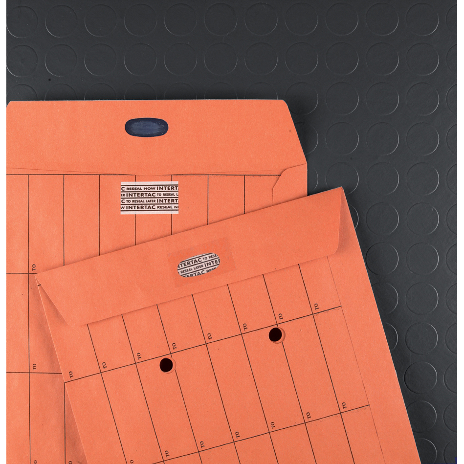 New Guardian Envelopes Internal Mail Pockt Intertac Resealable 90gsm C4 324x229mm Manil Orange Pack 500