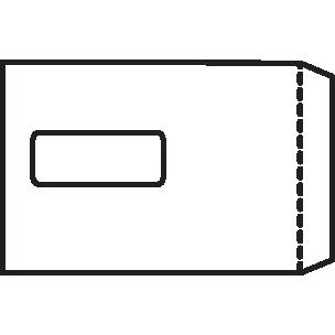 5 Star Office Envelopes Pocket Self Seal Window 90gsm C5 229x162mm White Pack 500
