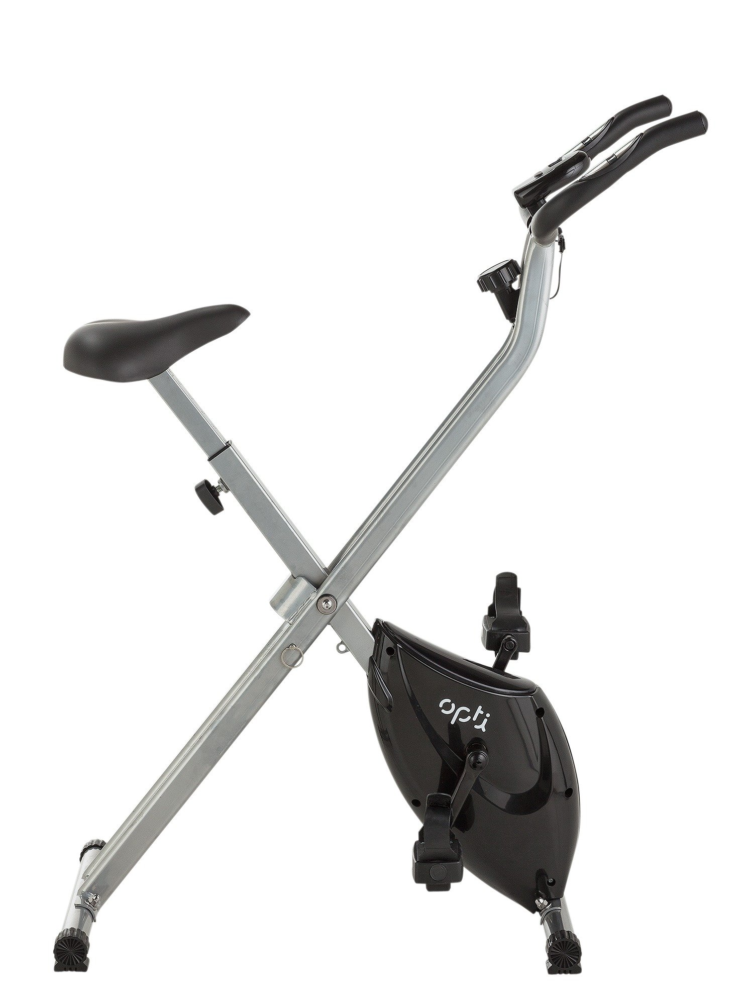Opti Magnetic Exercise Bike Purple