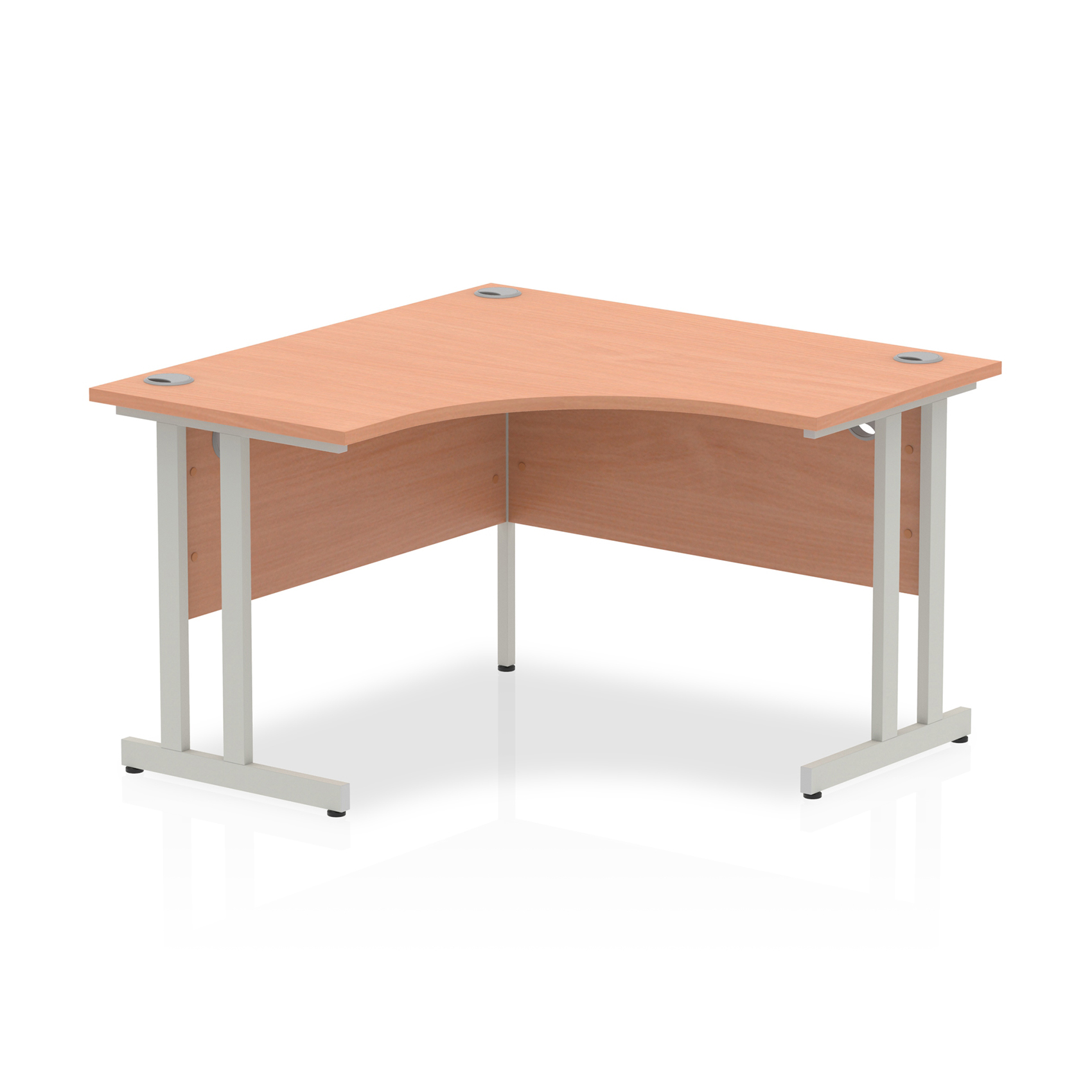 Trexus Call Centre Desk Cantilever 1200x1200mm Beech Ref I000296