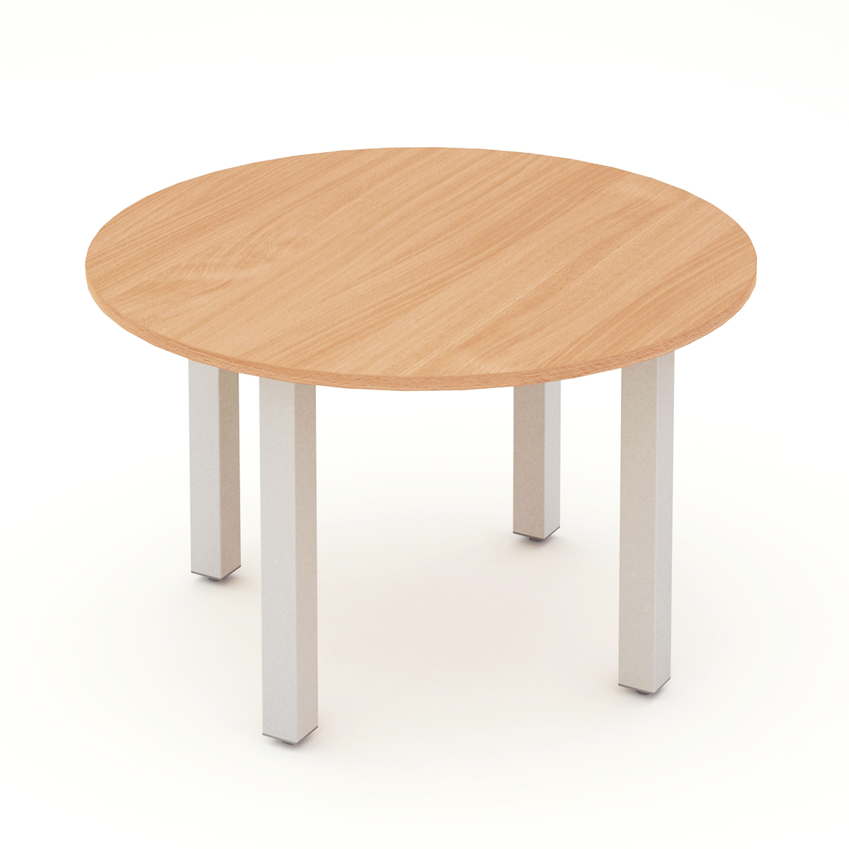 Trexus Meeting Table Round 1200mm Beech Ref I000080