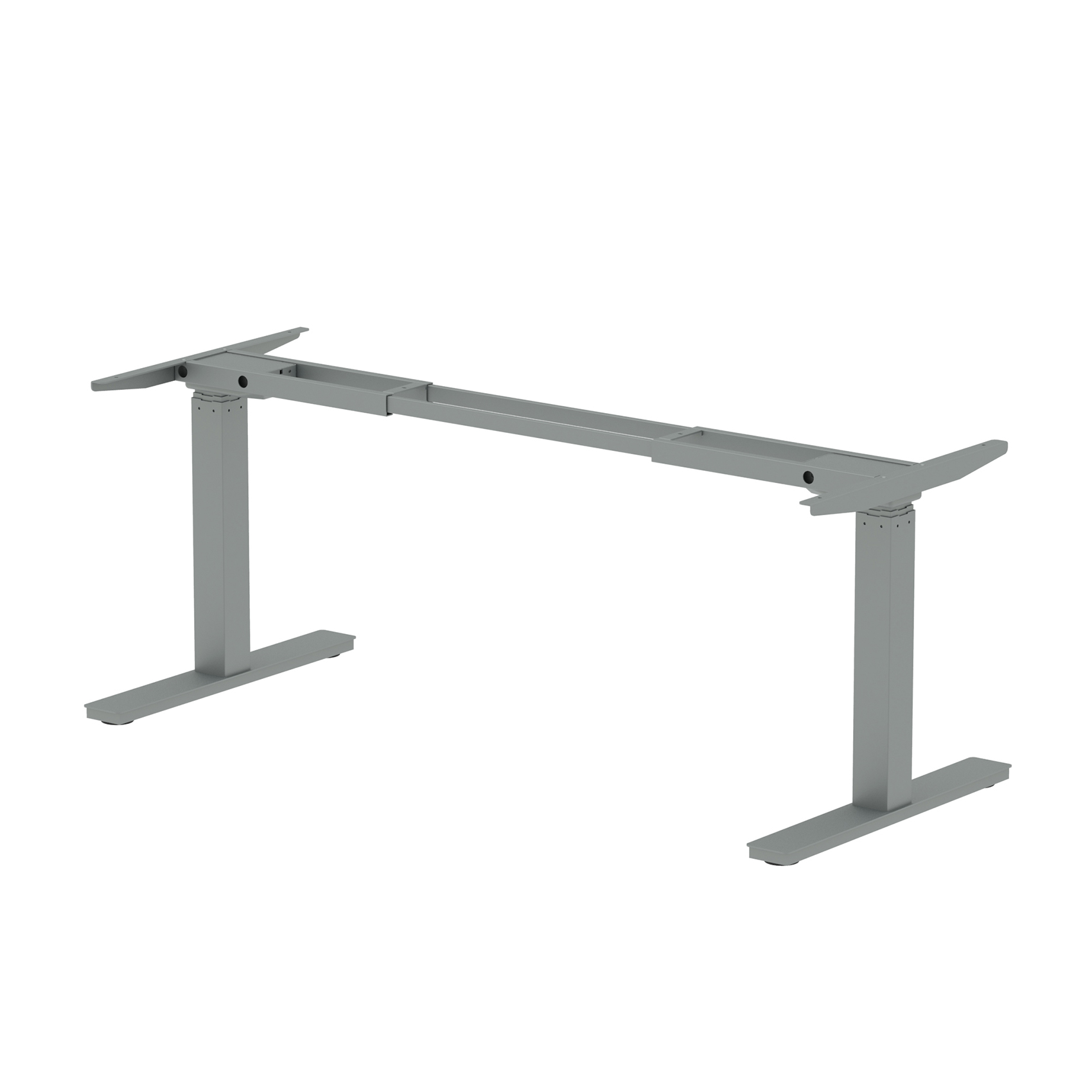CPU stand Trexus Sit Stand Leg Pack 1600mm width Silver Ref HA0001
