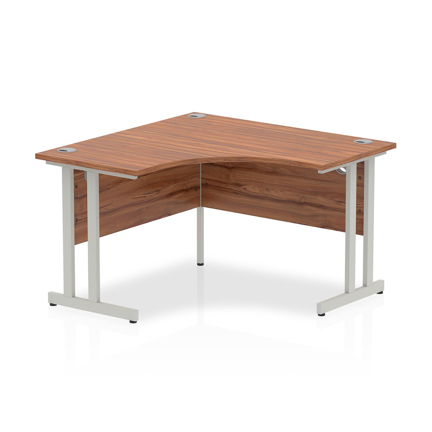 Trexus Call Centre Desk Cantilever 1200x1200 Walnut Ref I000340