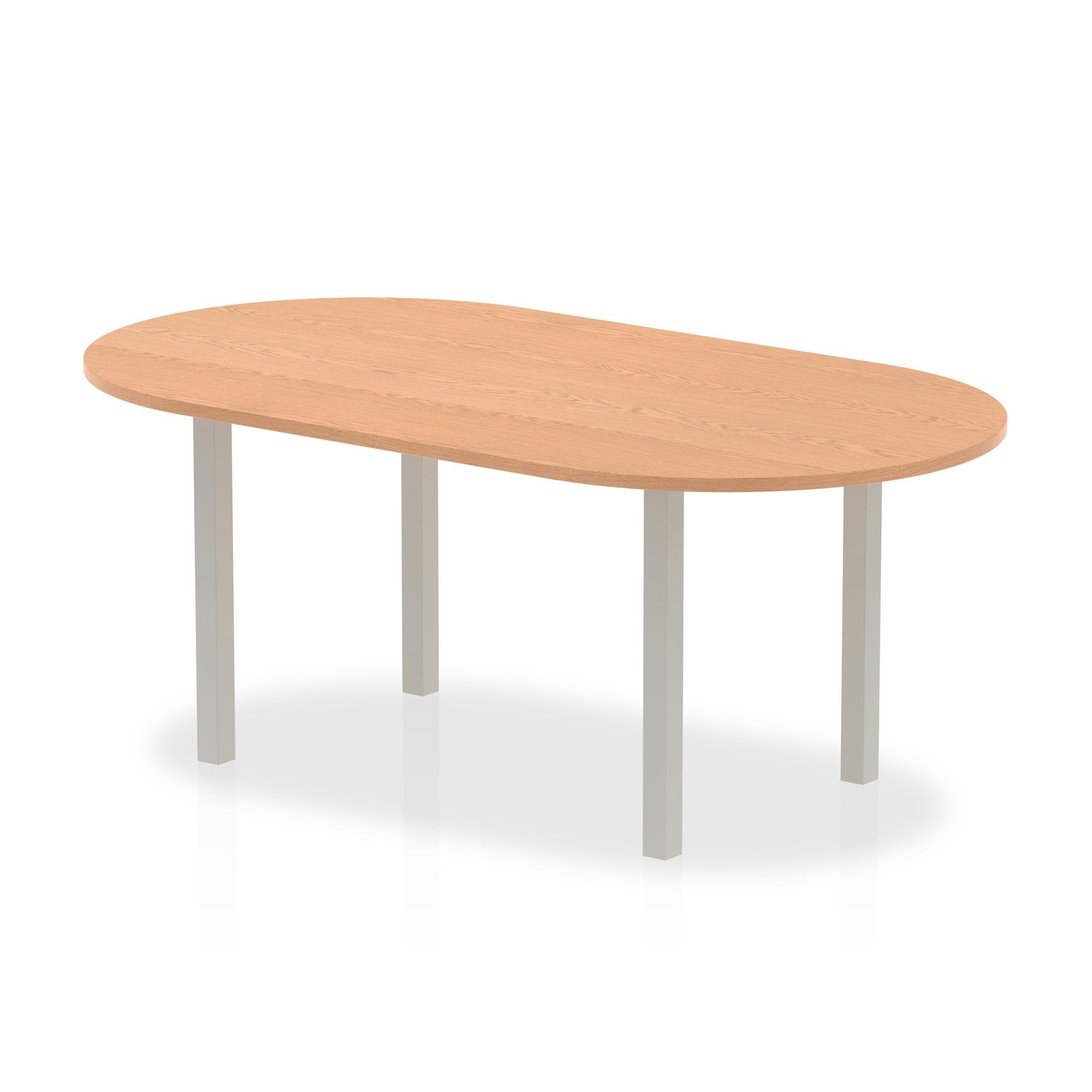 Trexus Boardroom Table 1800x1200x730mm Oak Ref I000791