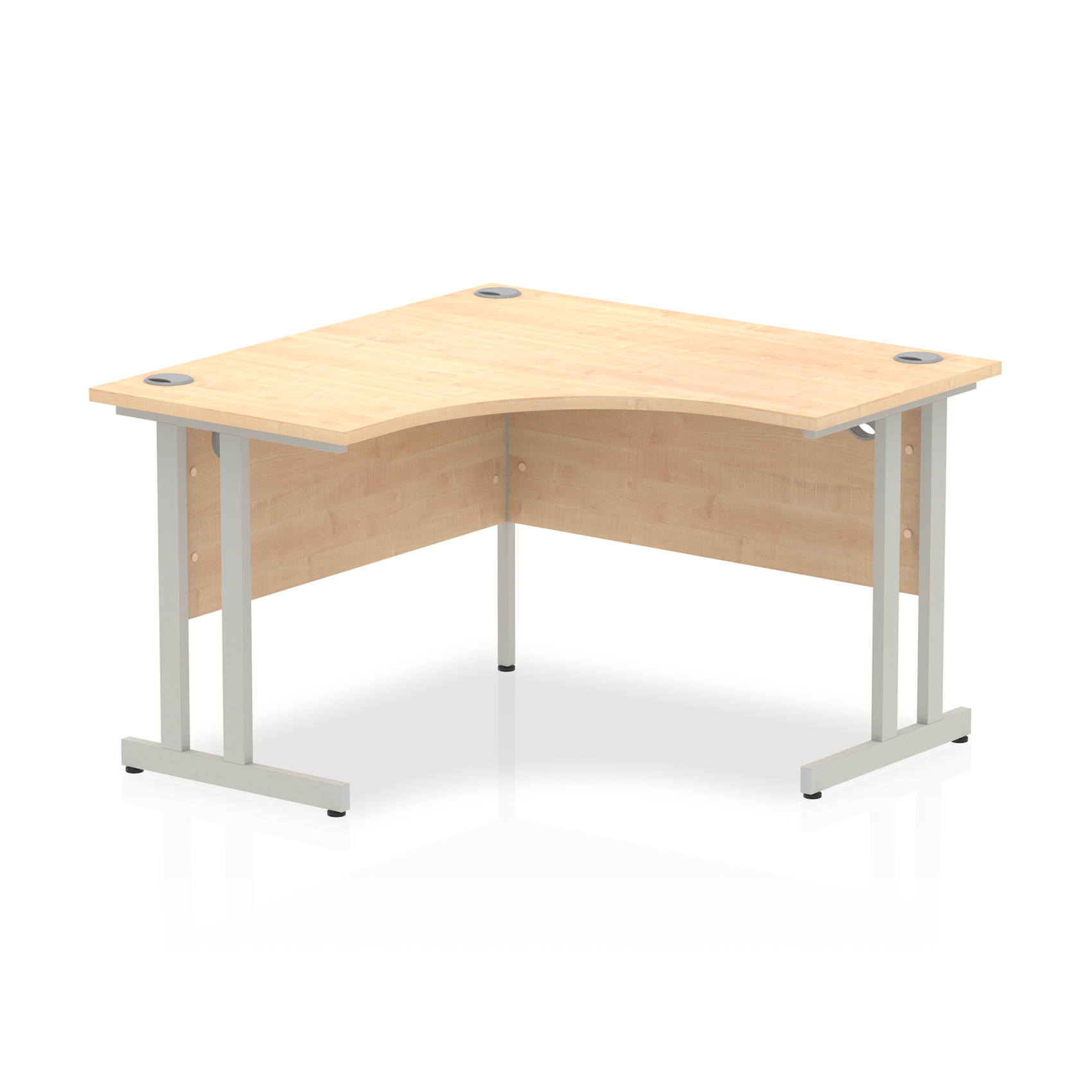 Trexus Call Centre Desk Cantilever 1200x1200 Maple Ref I000362