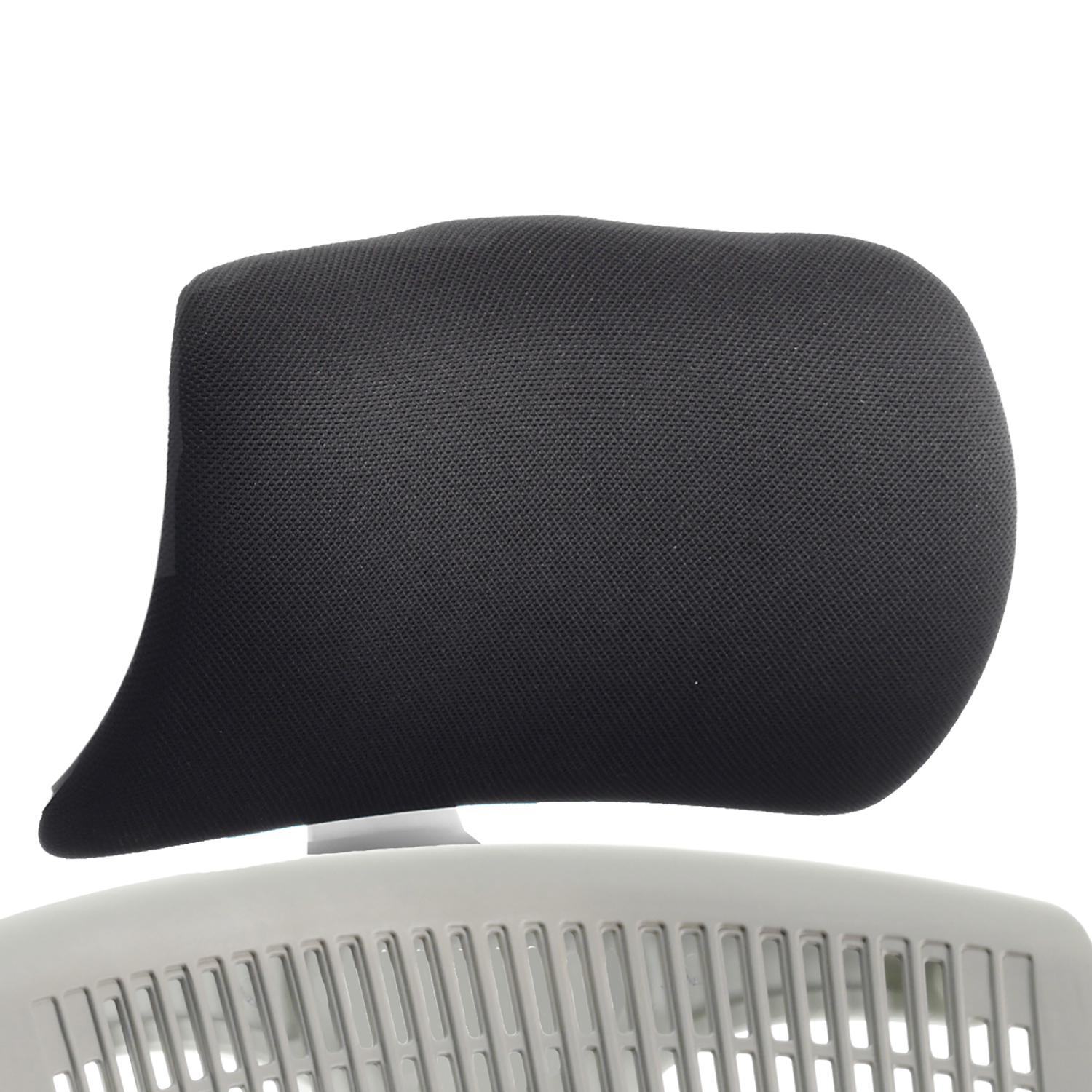 Back support rests Trexus Flex Headrest White Shell Fabric Black Ref OP000054