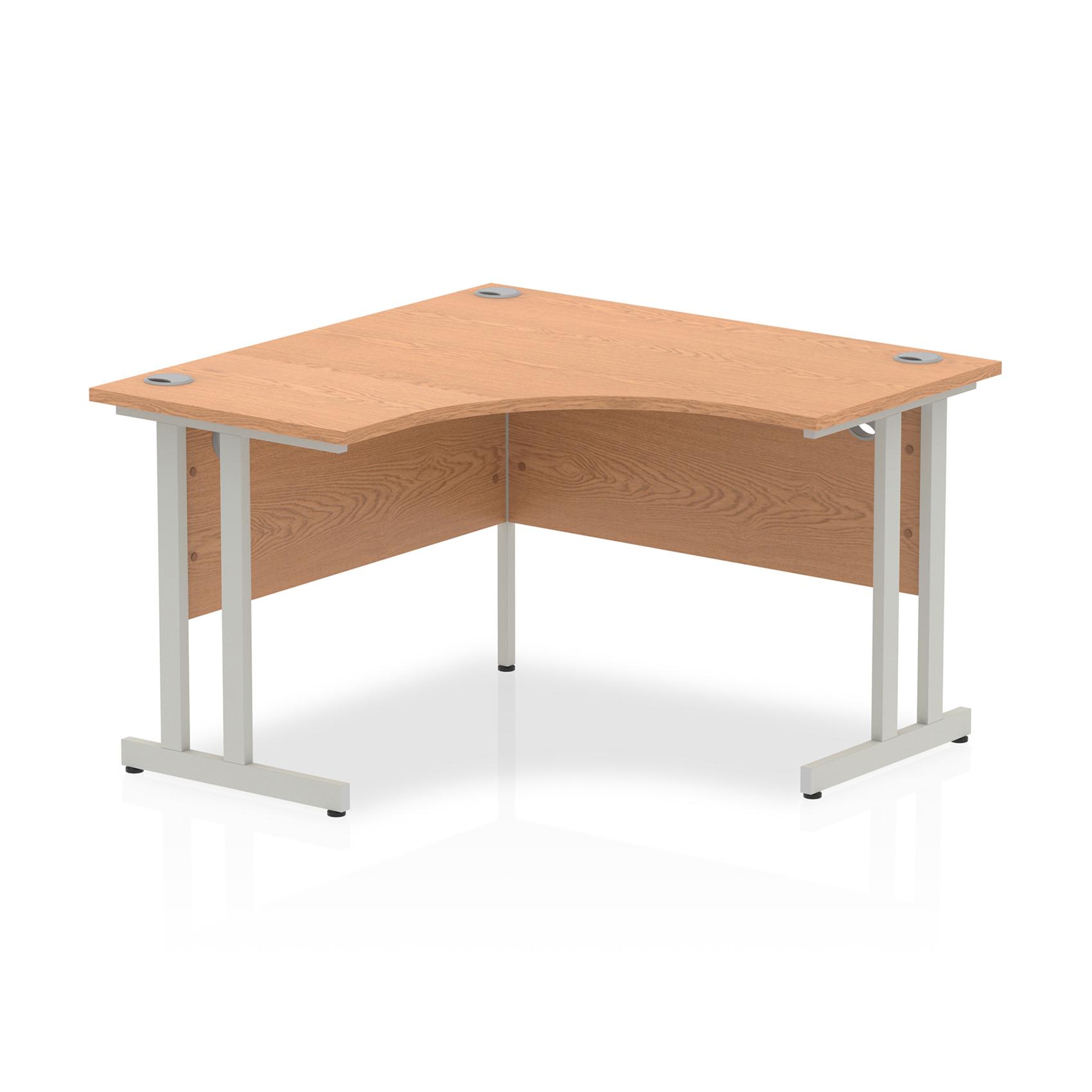 Trexus Call Centre Desk Cantilever 1200x1200mm Oak Ref I000819
