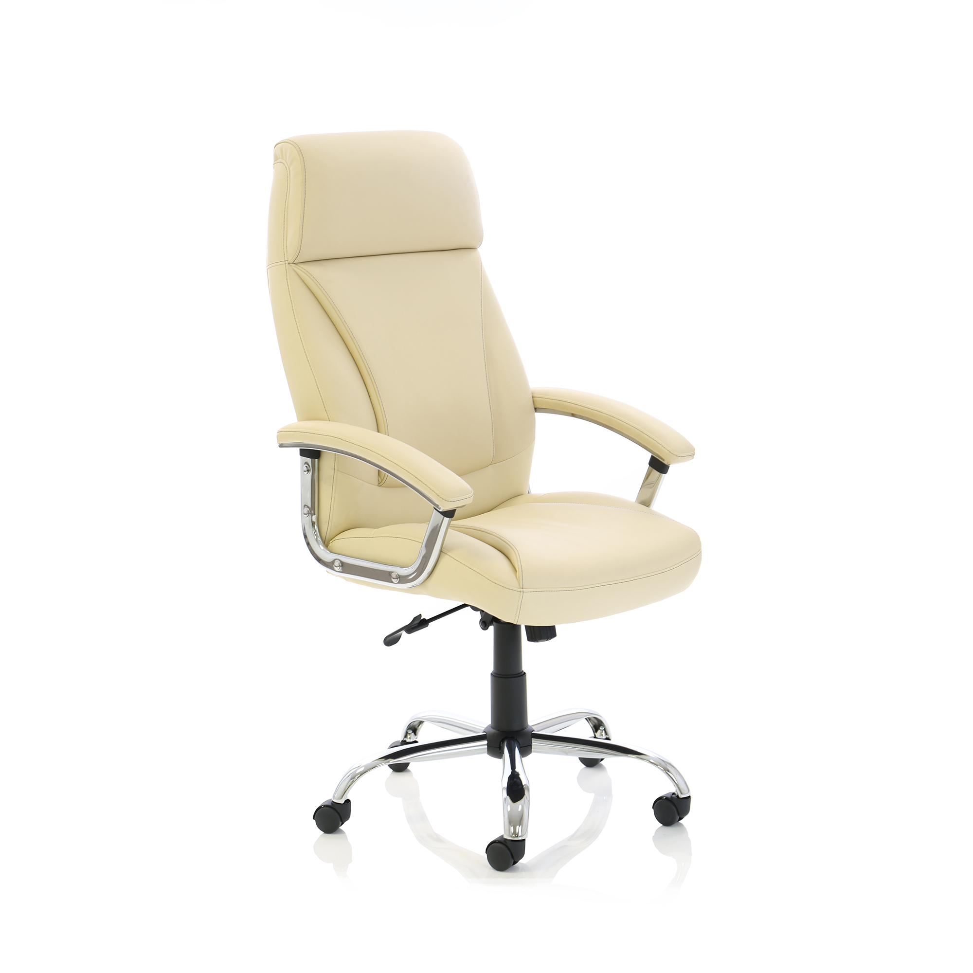 Trexus Penza Executive Leather Chair Cream Ref EX000186
