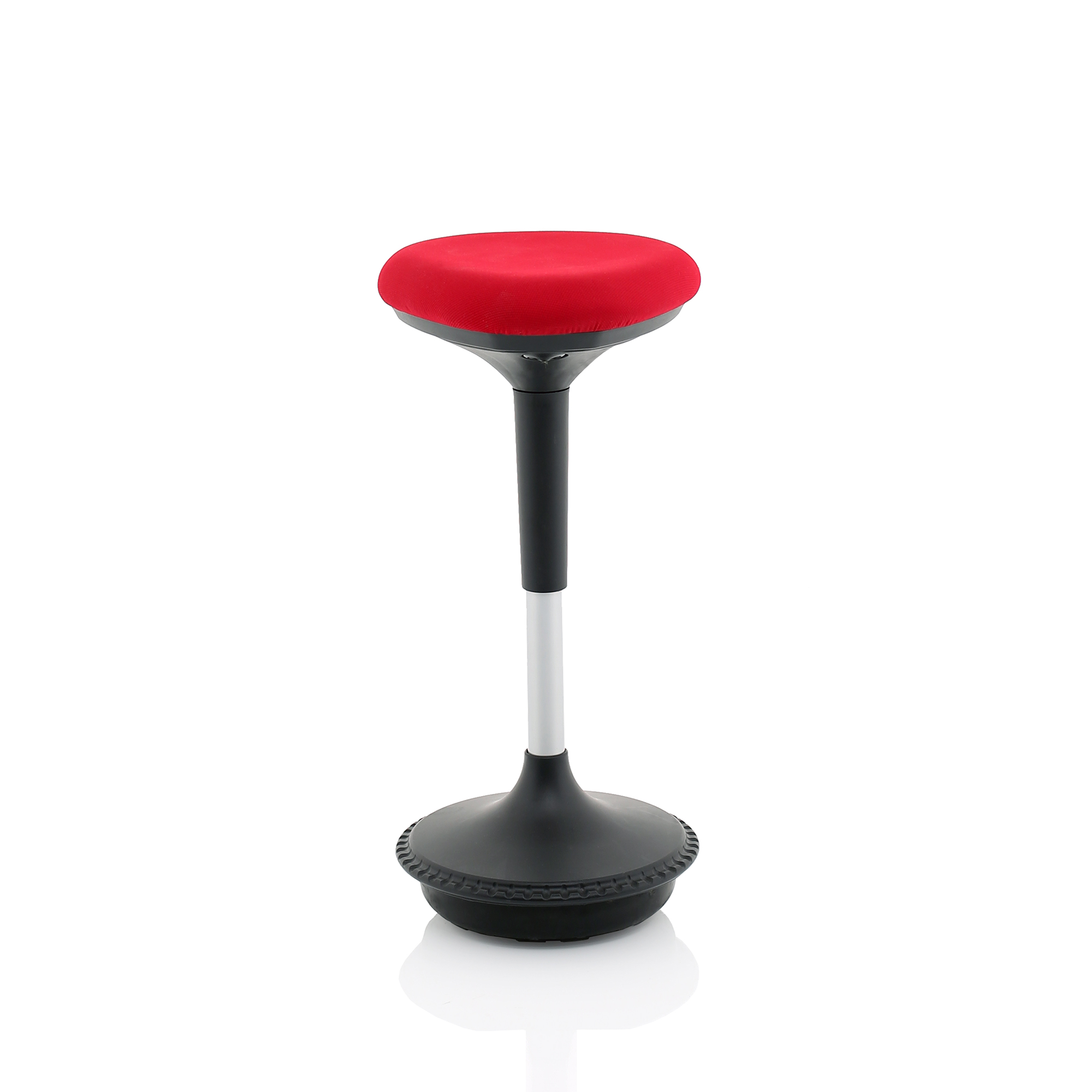 Trexus Sitall Deluxe Visitor Stool Fabric Seat Red Ref BR000215