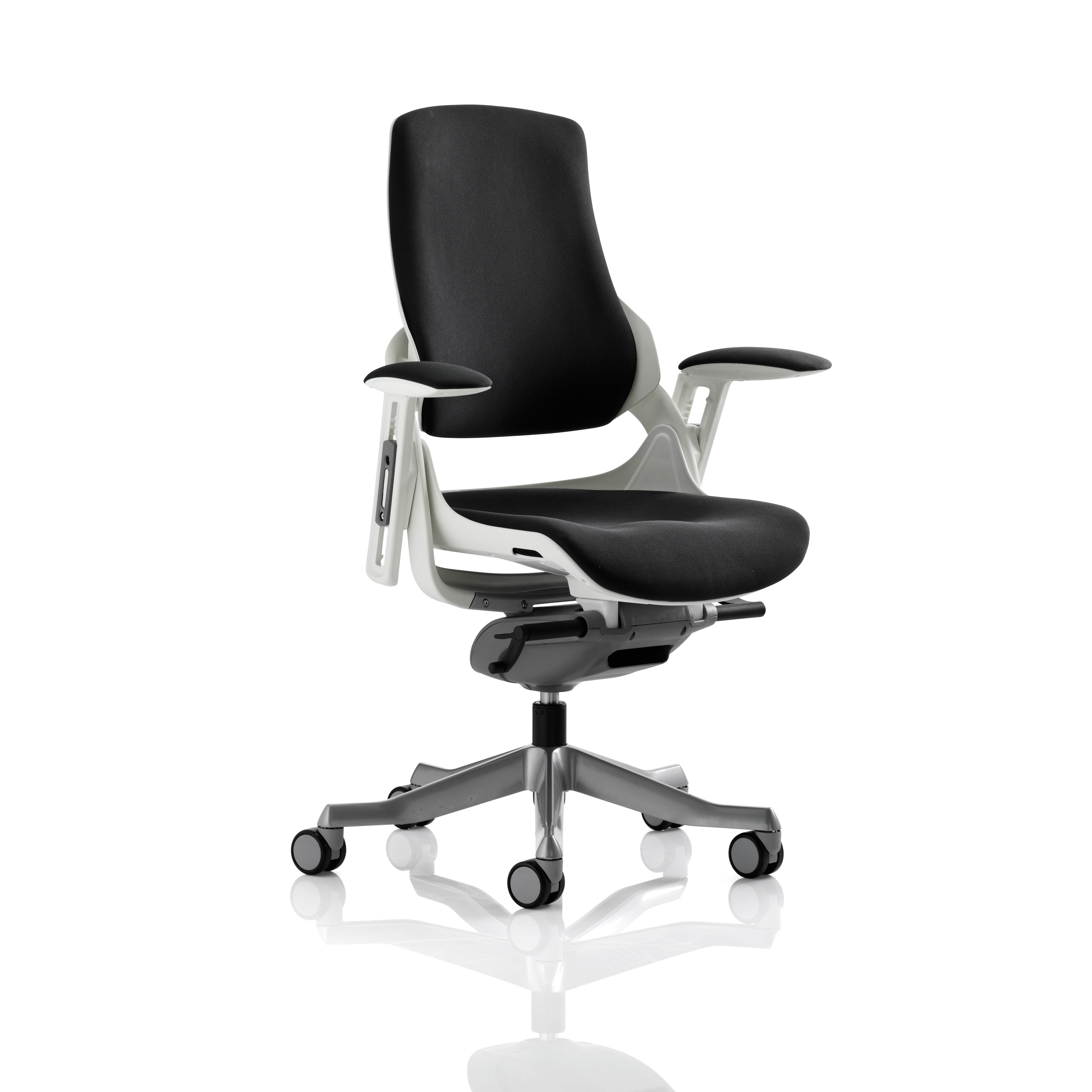 Adroit Zure Executive Chair With Arms Fabric Black Ref EX000114