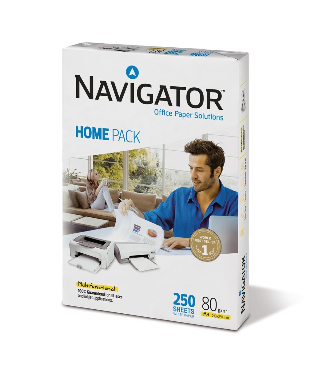 Image for Navigator Homepack 80gsm A4 250 Sheets Ref 127415