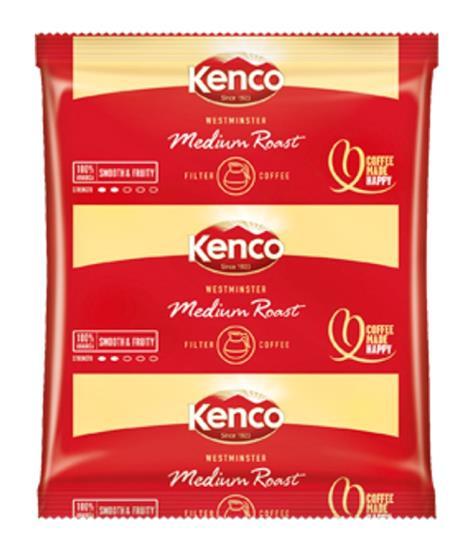 Kenco Westminster Filter Coffee 3 Pints per 60g Sachet Ref 4032272 [Pack 50]
