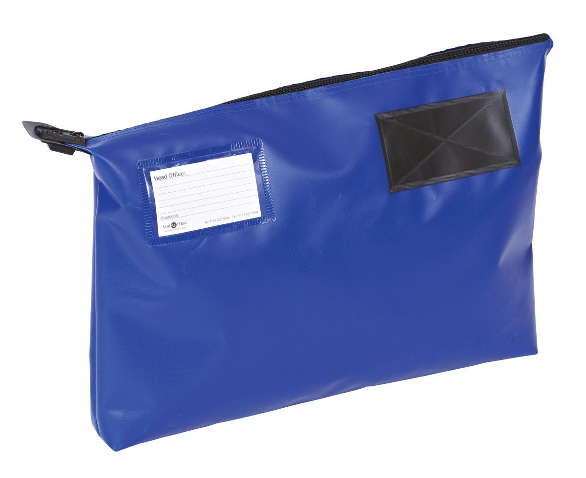 Mail Pouch A3 Gusset 470 x 336 x 76mm Blue Ref GP2B