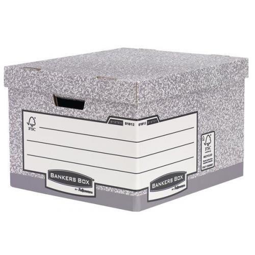 Image for Fellowes Bankers Box Heavy Duty Large Storage Box Ref 181201