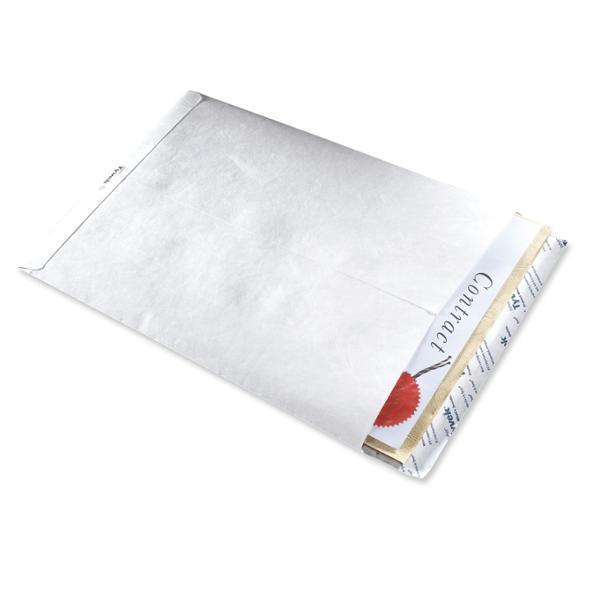 Image for Tyvek Pocket Envelope 330x250mm 55gsm Press Seal Ref 11792 [Pack 100]