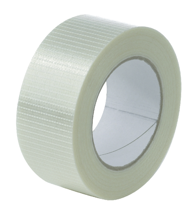 Image for Cross Weave Tape 50mm x 50m Ref CRT50 [Pack 18]