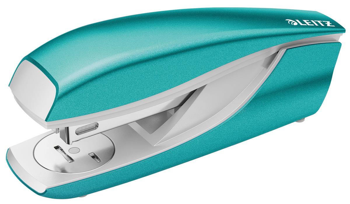Leitz NeXXt WOW Stapler 3mm 30 Sheet Ice Blue Ref 55021051