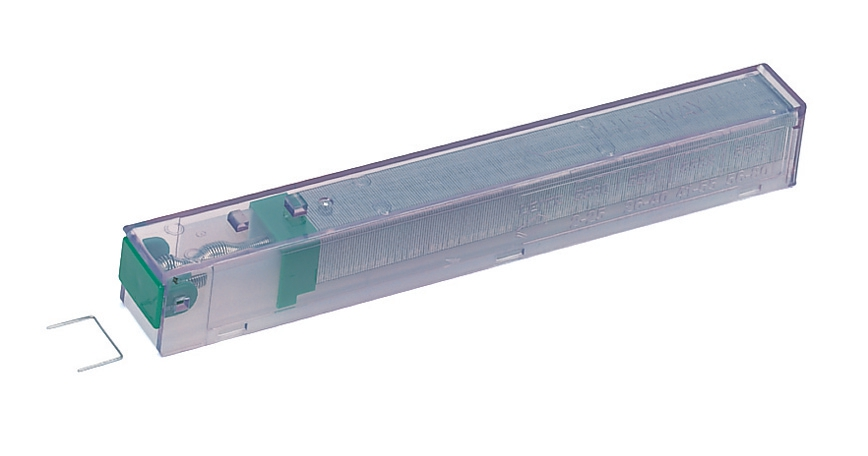 Image for Leitz Staple Cassette Cartridge 210 Staples K10 Green Ref 55930000 [Pack 5]