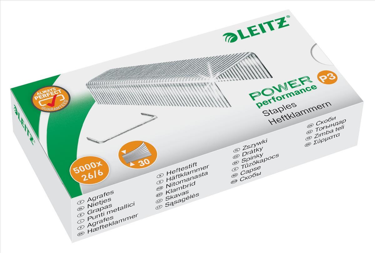 Image for Leitz Staples P3 26/6mm Ref 55721000 [Pack 5000]