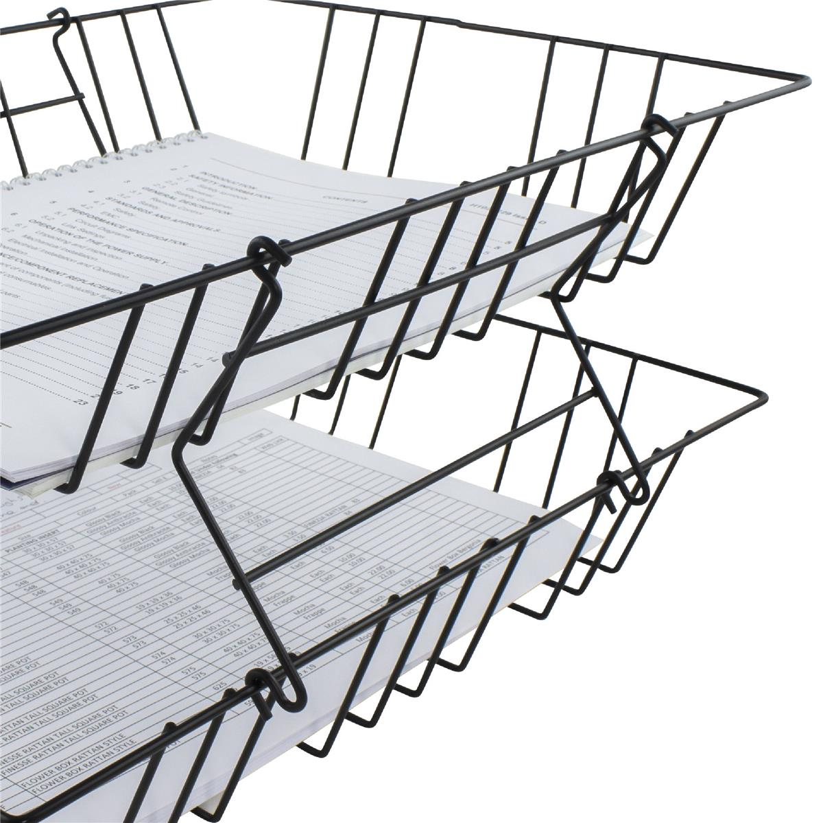 Image for Letter Tray Risers [Pack 2] Ref 777