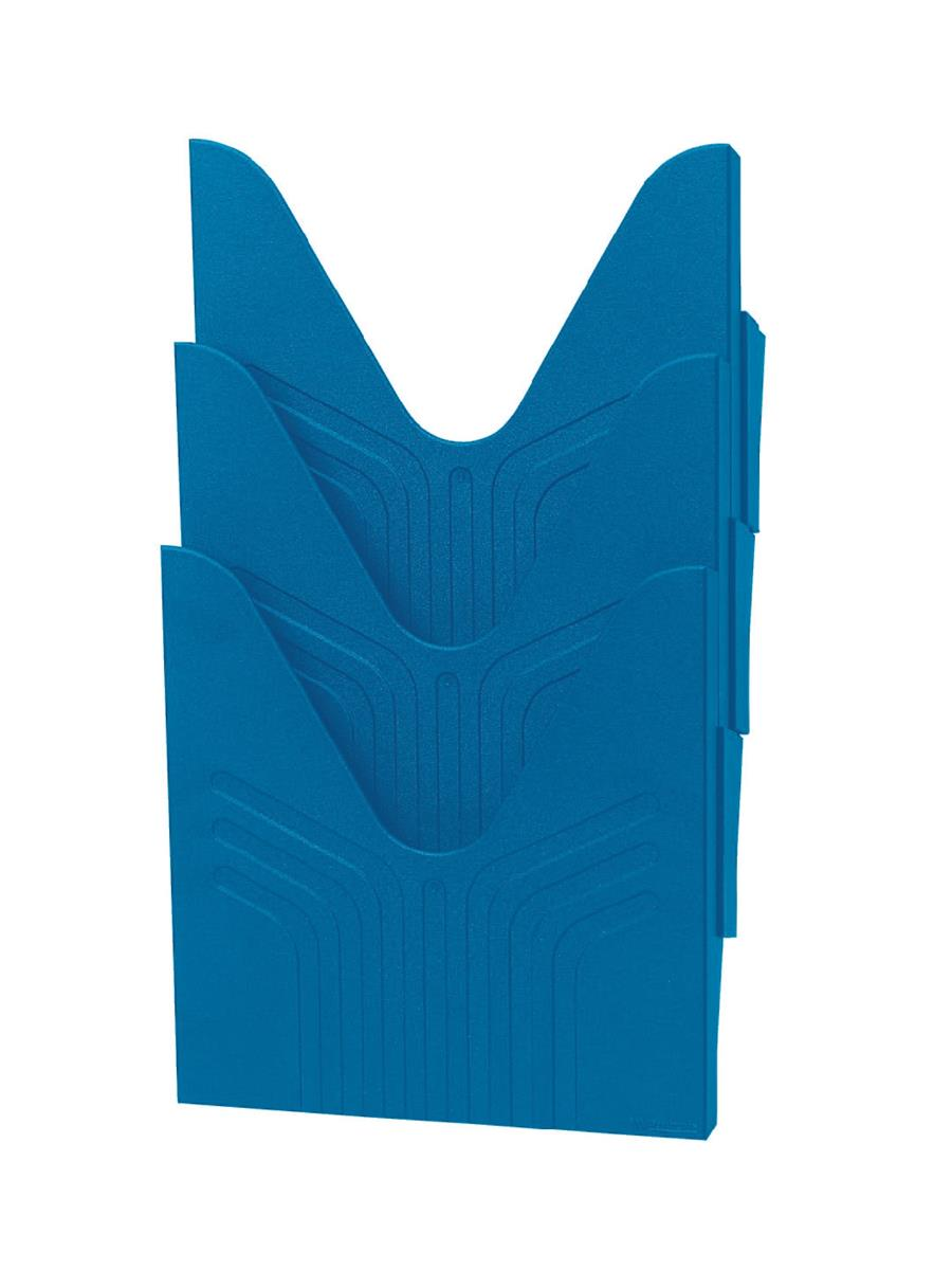 Image for Avery Mainline Display File A4 Blue Ref 144-3 BLUE [Pack 3]